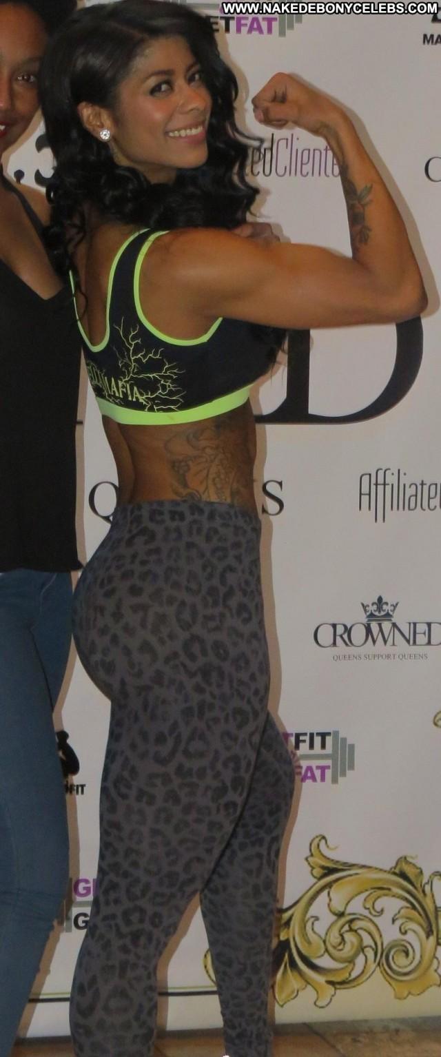 Mankofit Miscellaneous Celebrity Brunette Athletic Ebony Medium Tits