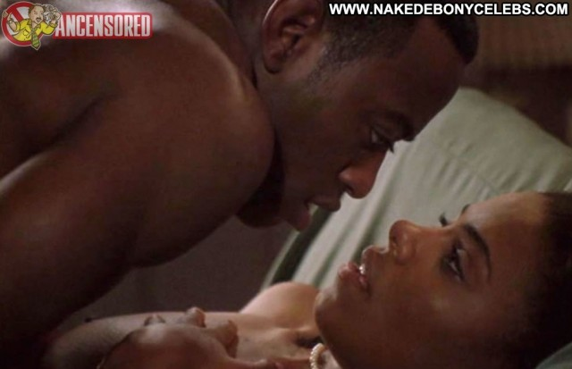 Sanaa Lathan Love Basketball Sultry Ebony Doll Brunette Big Tits