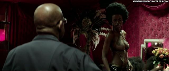 Joelle Kayembe Zulu Celebrity Sensual Stunning Big Tits Doll Ebony