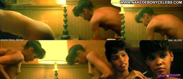 Gretchen Palmer Red Heat Ebony Sexy Celebrity Small Tits Brunette