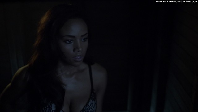 Meagan Tandy Teen Wolf Celebrity Ebony Skinny Medium Tits Brunette