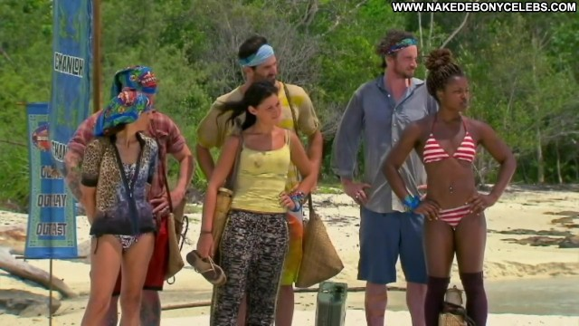 Cydney Gillon Survivor Beautiful Brunette Small Tits Celebrity