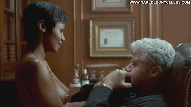 Emayatzy E Corinealdi Hand Of God Brunette Medium Tits Sensual Ebony