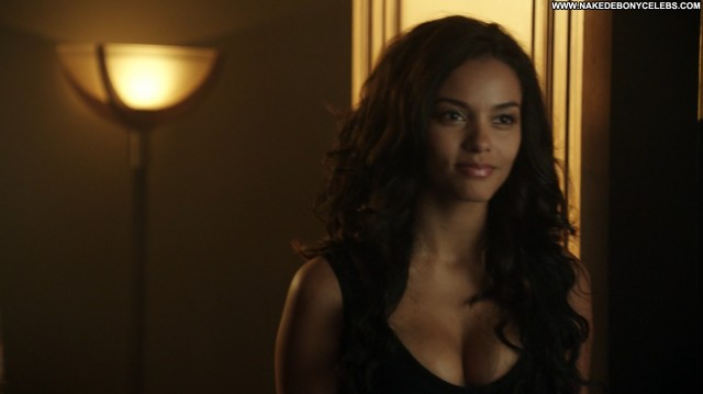 Jessica Lucas Gotham Celebrity Nice Brunette Ebony Hot Sultry Big