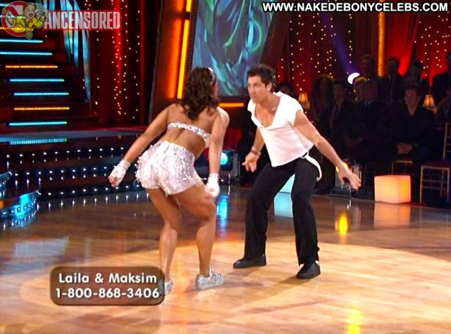 Laila Ali Dancing With The Stars Gorgeous Brunette Ebony Celebrity