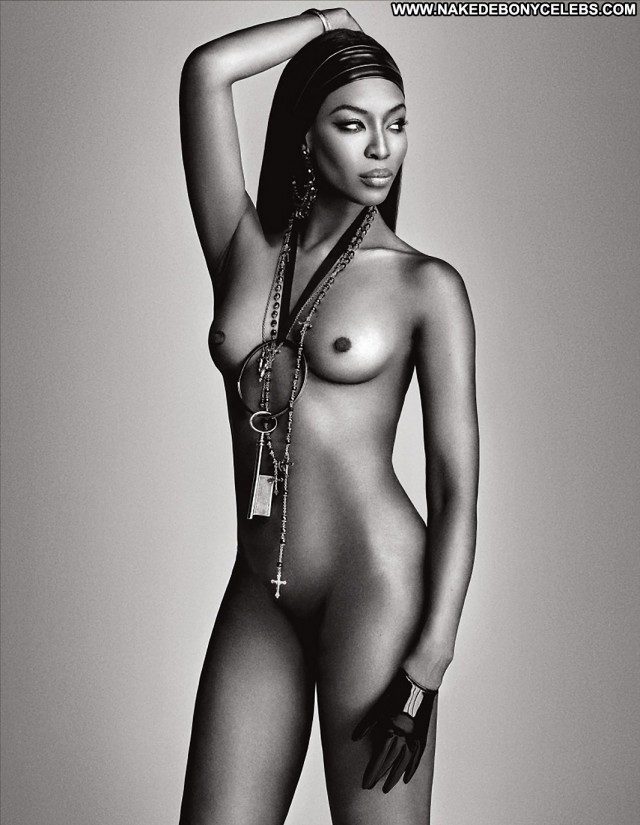Naomi Campbell Miscellaneous Pretty Sensual Brunette Medium Tits
