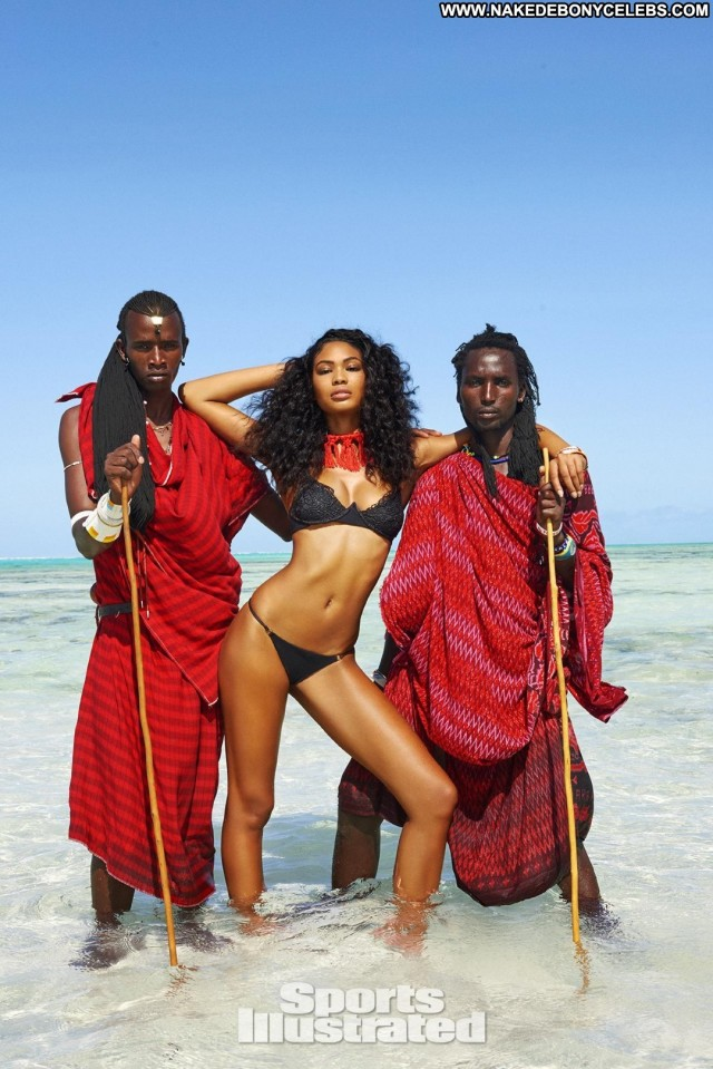 Chanel Iman Sports Illustrated Swimsuit Issue Sexy Skinny Hot Small
