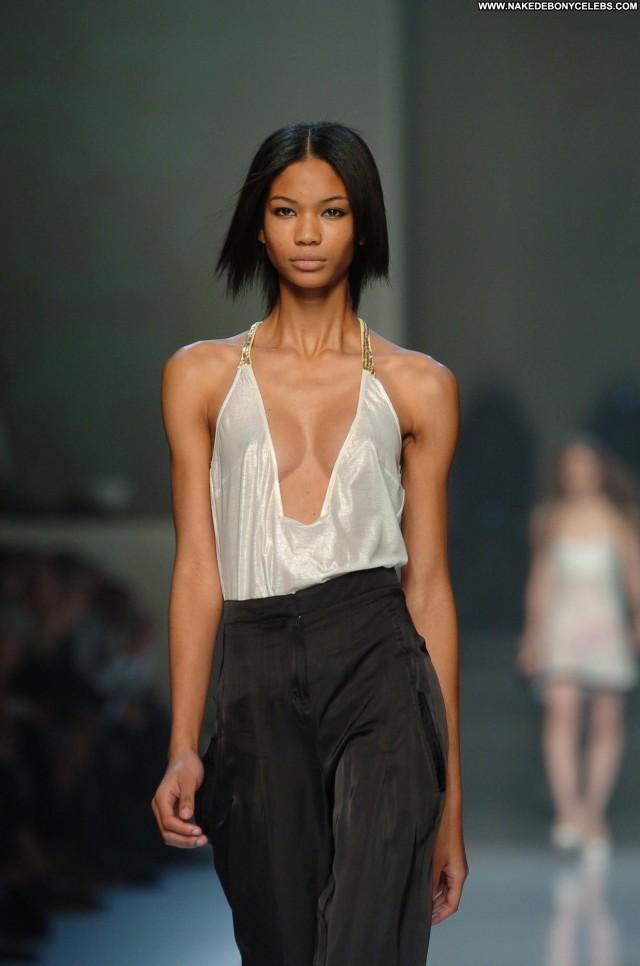 Chanel Iman Miscellaneous Celebrity Small Tits Ebony Brunette Skinny