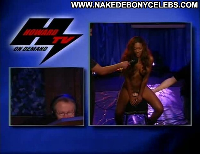 Nyomi Banks The Howard Stern Show Ebony Sultry Big Tits Celebrity
