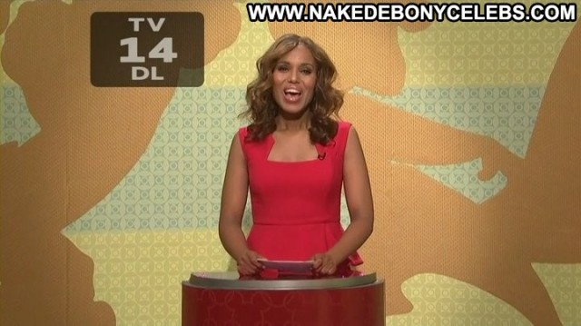 Kerry Washington Saturday Night Live Sensual Nice Brunette Celebrity