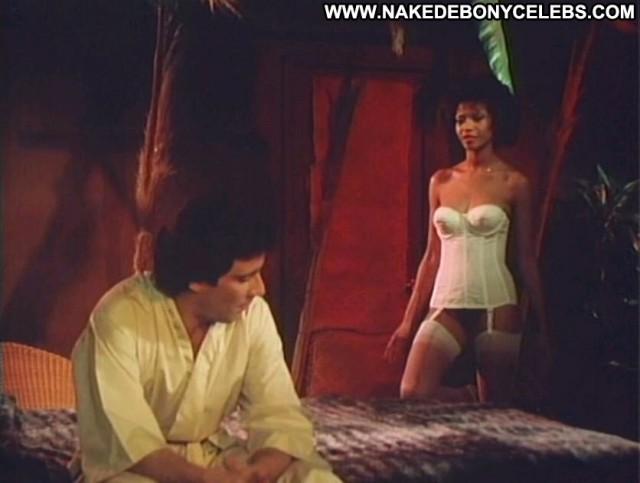 Desiree West Sex World Pornstar Sexy Posing Hot Brunette Ebony