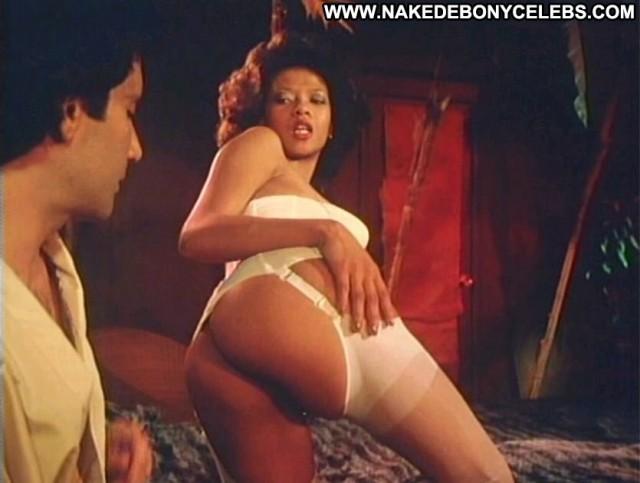 Desiree West Sex World Pornstar Brunette Big Tits Ebony Posing Hot