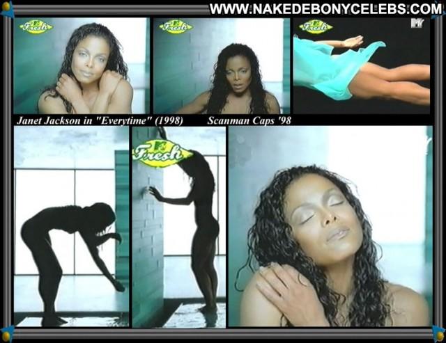 Janet Jackson Everytime Stunning Singer Brunette Beautiful Medium