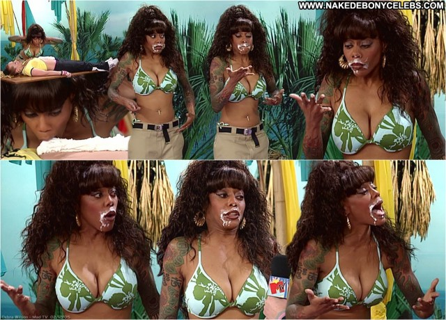 Debra Wilson Mad Tv Nice Celebrity Posing Hot Doll Ebony Big Tits