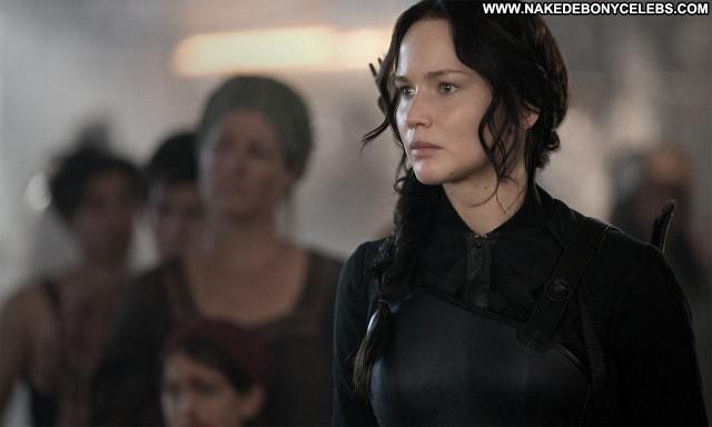 Jennifer Lawrence The Hunger Games Mockingjay Part Celebrity Cute