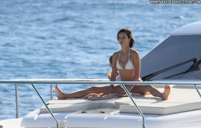 Alessandra Ambrosio No Source  Ibiza Babe Bikini Beautiful Posing Hot