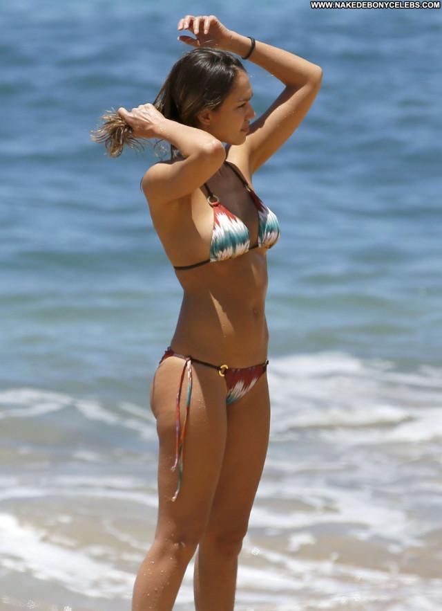 Jessica Alba No Source Bikini Celebrity Posing Hot Babe Beautiful