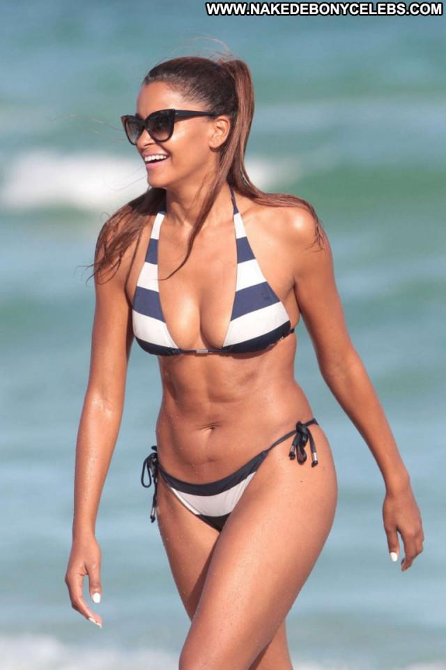 Claudia Jordan No Source Bikini Celebrity Posing Hot Jordan Candids