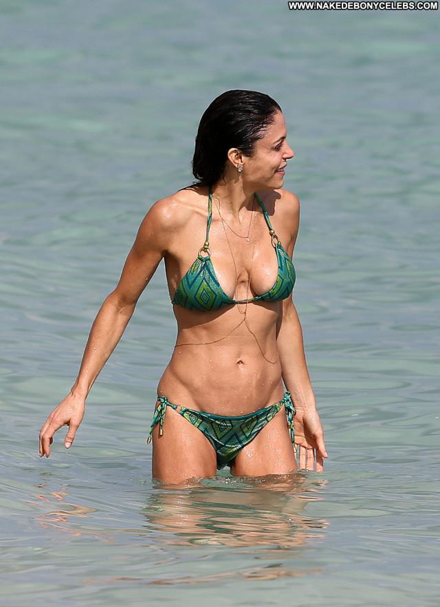 Bethenny Frankel No Source Beautiful Posing Hot Bikini Babe Beach