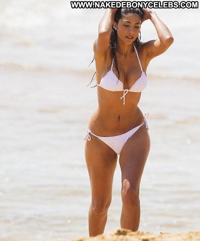 Pia Miller The Beach  Posing Hot Beach Beautiful Celebrity Bikini Babe