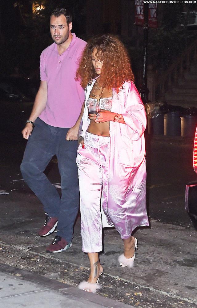 Rihanna New York See Through Ebony Curly Hair Beautiful Celebrity