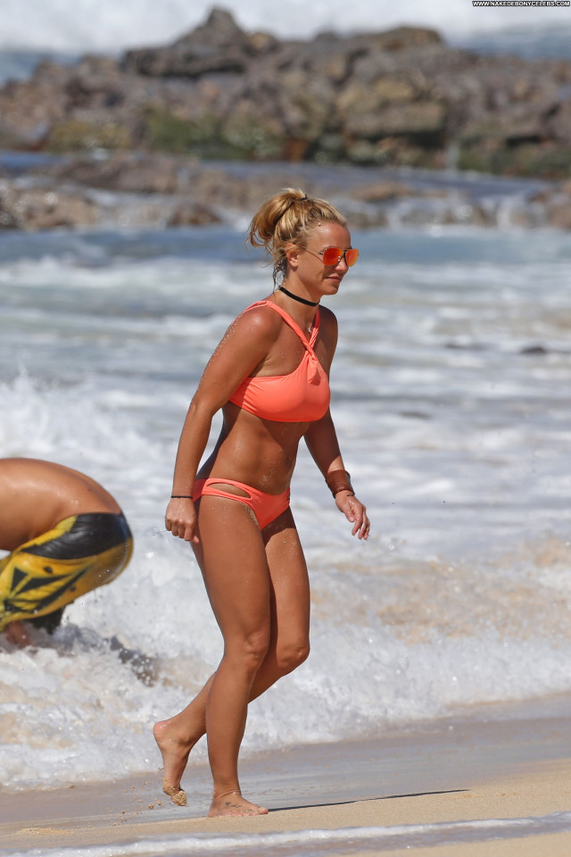 Britney Spears The Beach Celebrity Nice Bikini Beach Babe Beautiful
