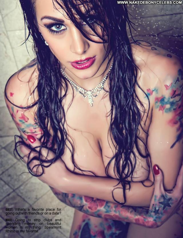 Nikki Nichole Celebrity Bombshell Tattoos Magazine Scans Beautiful