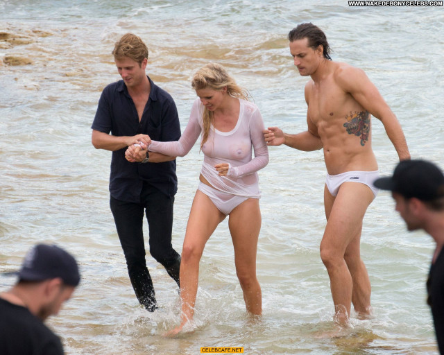 Lara Stone No Source Celebrity See Through Wet Photoshoot Babe