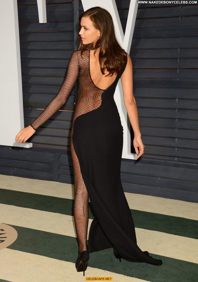 Irina Shayk Vanity Fair Pants Posing Hot Bra Babe Beautiful Party