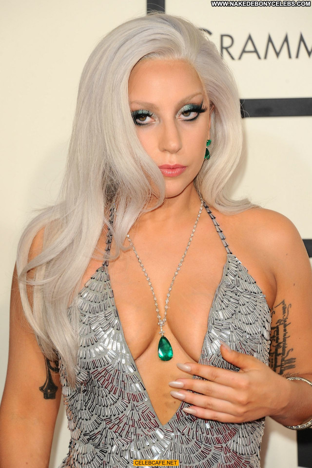 Lady Gaga Grammy Awards Cleavage Celebrity Sex Beautiful Awards Sexy
