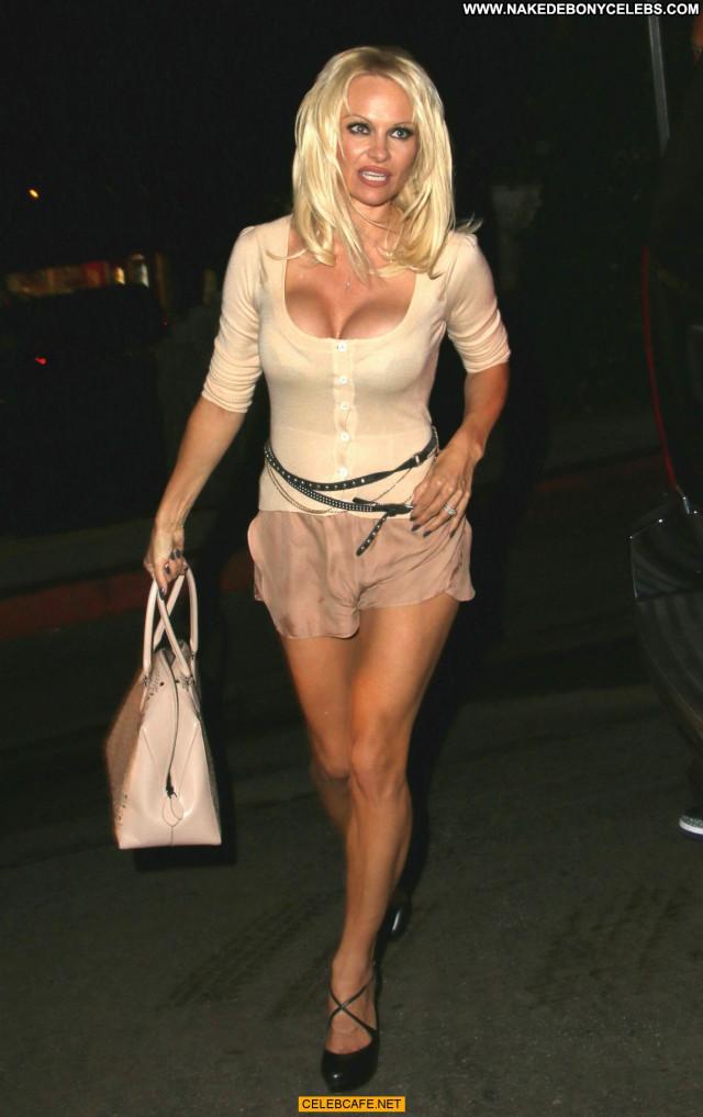 Pamela Anderson West Hollywood Babe Posing Hot West Hollywood Legs