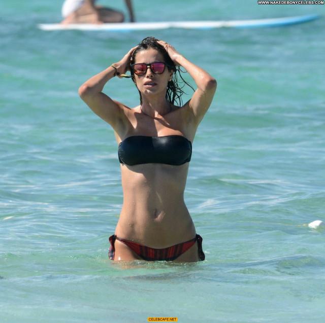 Aida Yespica The Beach Celebrity Beautiful Posing Hot Babe Beach