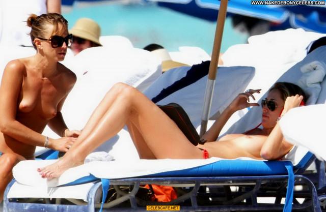 Lauren Stoner South Beach Posing Hot Celebrity Babe Toples Beach