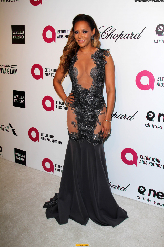 Melanie Brown No Source Babe Beautiful Cleavage Party Posing Hot