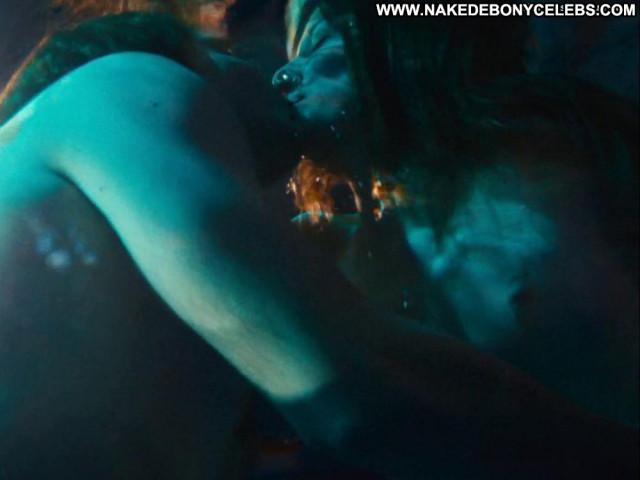 Alexandra Maria Lara The Pool Kissing Topless Pool Babe Celebrity Big