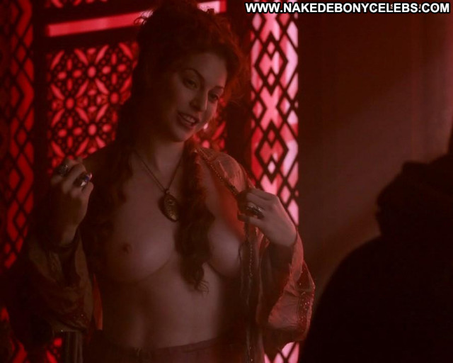 Esme Bianco Game Of Thrones Posing Hot Topless Babe Celebrity