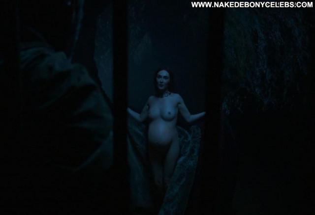 Carice Van Houten Game Of Thrones Posing Hot Breasts Actress
