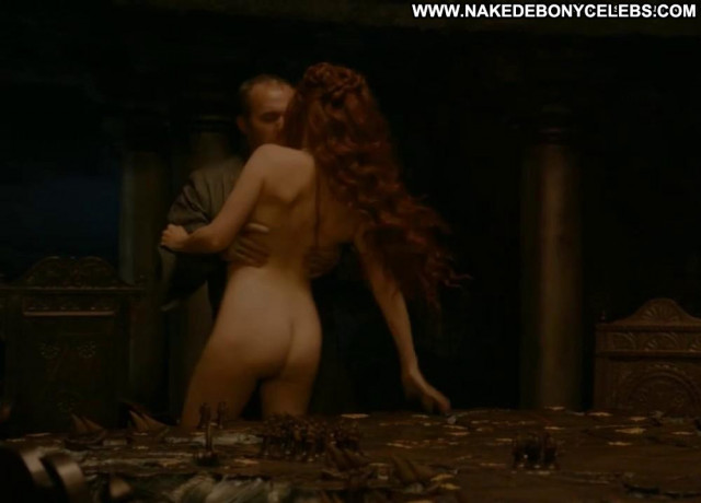 Carice Van Houten Game Of Thrones Nice Dutch Babe Nude Ass Car