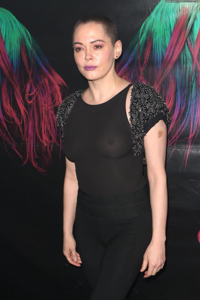 Rose Mcgowan New York Black Beautiful New York Singer Posing Hot Sex