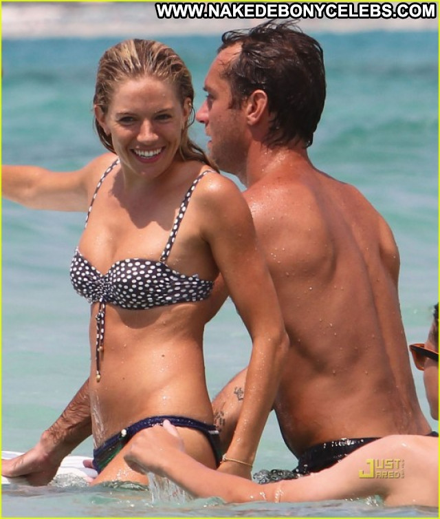 Sienna Miller No Source Babe Candid Italy Bikini Celebrity Posing Hot