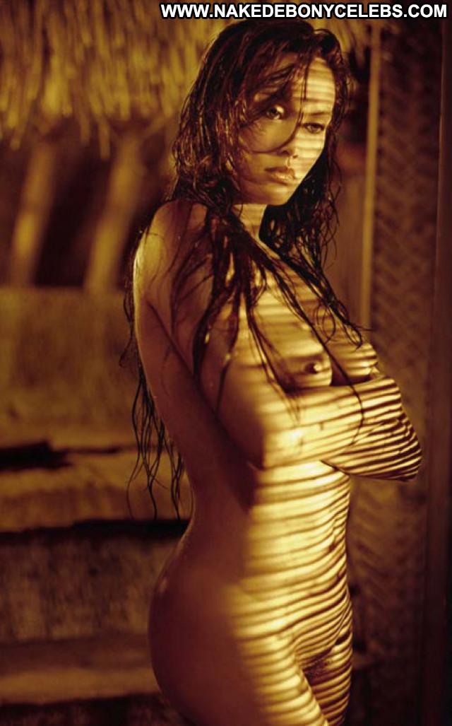 Tia Carrere No Source Car Beautiful Celebrity Posing Hot Nude Babe