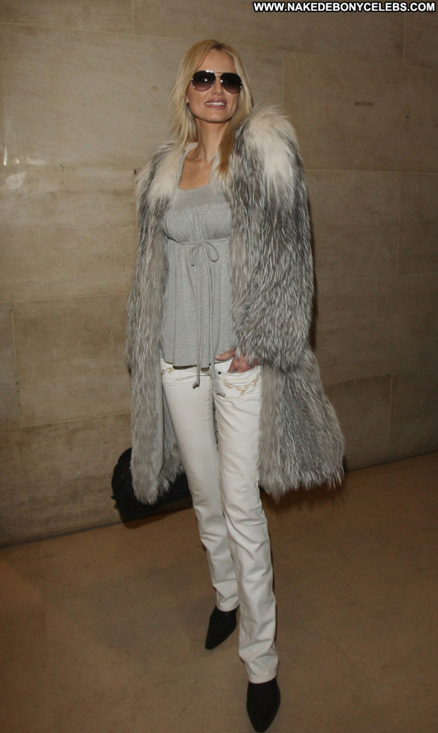 Adriana Karembeu Fashion Show Posing Hot Paris Paparazzi Babe