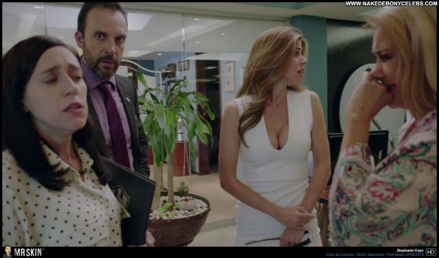 Stephanie Cayo Club De Cuervos Blonde Doll Celebrity Sensual Latina