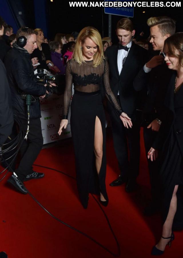 Amanda Holden No Source Paparazzi Celebrity Awards London Posing Hot