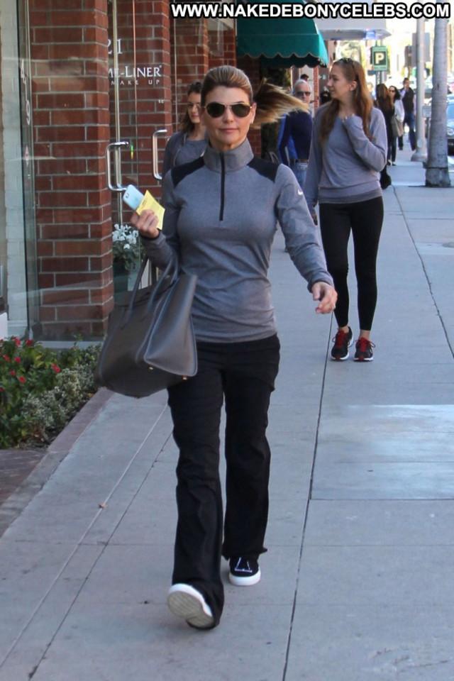 Lori Loughlin Beverly Hills Celebrity Posing Hot Beautiful Paparazzi