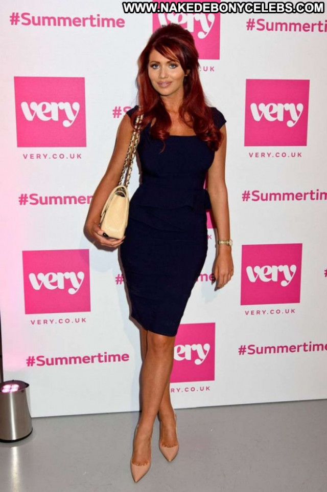 Amy Childs No Source Party Summer London Celebrity Paparazzi Posing