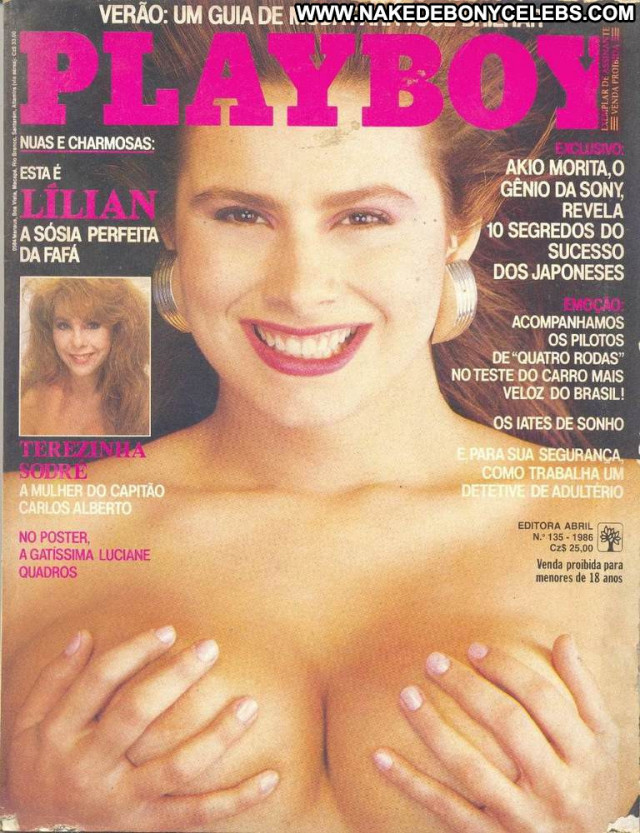Lilian Ramos Playboy Brasil Pretty Brunette Cute Latina Big Tits