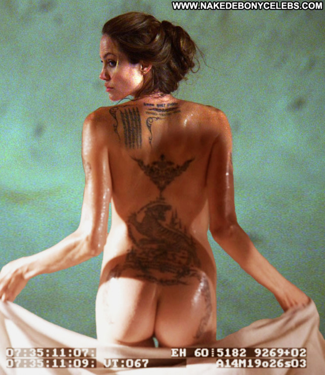 Angelina Jolie Famous Nude Punk Beautiful Glamour Bar Live Reality