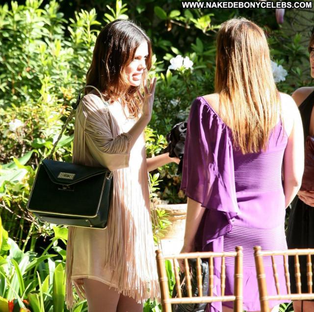 Rachel Bilson Paparazzi Celebrity Babe Candid Candids Party Posing