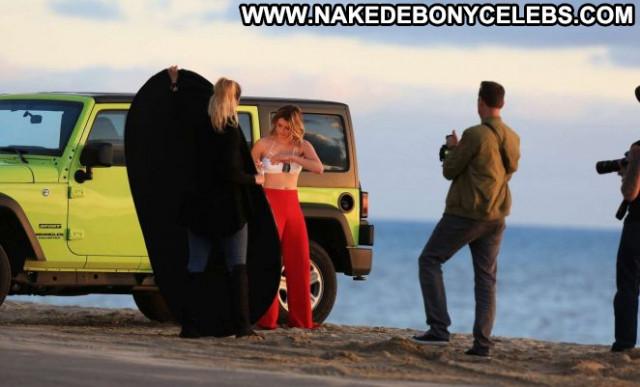 Photos No Source Malibu Photoshoot Bar Bikini Celebrity Babe